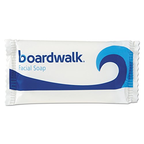 Boardwalk NO34SOAP Face and Body Soap, Flow Wrapped, Floral Fragrance, 3/4 Bar (Case of 1000)