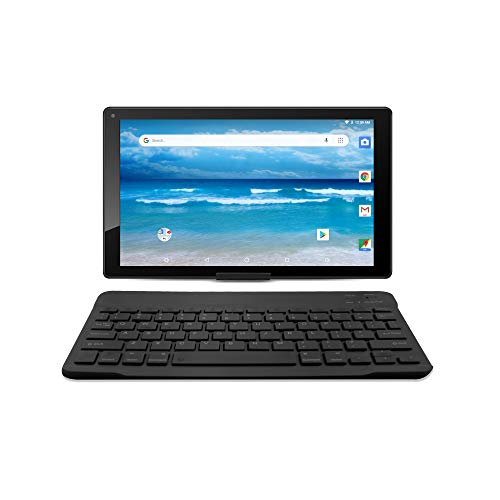 10.1 inch Android 8.1 Oreo, HD Tablet by Azpen Google Certified, Bonus- Bluetooth Keyboard, Case and Stand Included (Black)