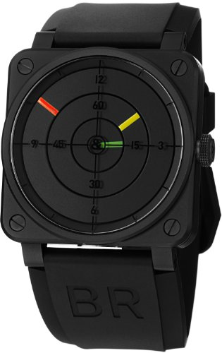 Bell and Ross Aviation Radar Black Dial Mechanical Mens Watch BR0392-RADAR