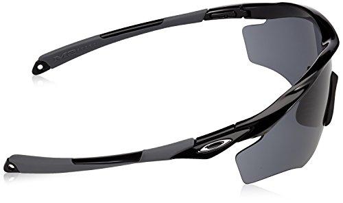Black FRAME Polished Oakley OO9343 M2 Sonnenbrille XL S8qB8w