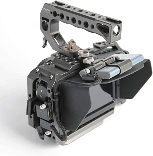 TILTA BMPCC 4K / BMPCC 6K Cage Black Magic Pocket Cinema Camera 4K / 6K Cage Rig Full Camera Cage SSD Drive Holder