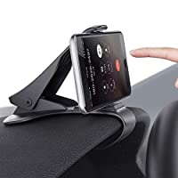 Car Phone Mount, MANORDS Durable Dashboard Car Phone Clip Holder Compatible for iPhone 11 Xs Max R 8 Plus 7 Samsung Galaxy S10 E S9 S8 Plus Edge Note 9 and More