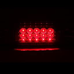 Ford F150 04-08 3Rd Brake Lights/ Lamps Led Red/Clear Euro