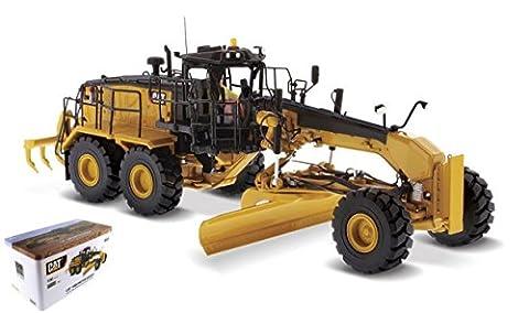 DIECAST MASTER DM85521 CAT 18M3 MOTOR GRADER 1:50 MODELLINO DIE CAST MODEL - Cat Motor Grader