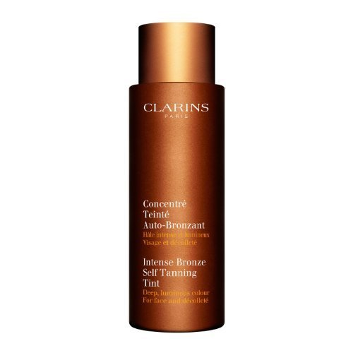 Clarins Intense Bronze Self Tanning Tint Instant Colour for Your Face and Decollete size: 4.2 fl oz, (Instant Bronze)