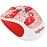 Logitech Play Collection M325c Mouse - Optical - Wireless - Radio Frequency - Usb - 1000 Dpi - Tilt Wheel - 5 Button[s] - Flamin