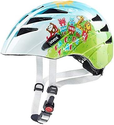 Uvex Unisex Jugend Kid 1 Casco de Bicicleta, Multicolor, 47 – 52 ...