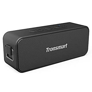 Bluetooth Speakers, Tronsmart T2 Plus 20W Outdoor Waterproof Speakers Bluetooth 5.0, IPX7 Portable Wireless Speakers, 24-Hour Playtime, TWS, Built-in Mic, Speaker for Home, Outdoors, Travel