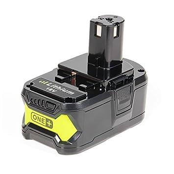 LENOGE 18V 5000Ah Herramienta Eléctrica Batería para Ryobi RB18L15 ...
