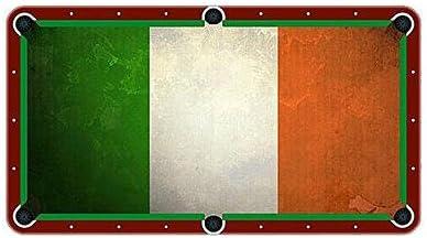 Bandera de Irlanda Paño de billar mesa de billar fieltro: Amazon.es: Deportes y aire libre