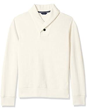 Men's Shawl-Collar Sweater