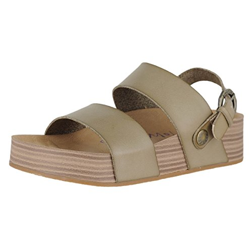 Blowfish Women's Marge Light Taupe Dyecut PU 7 M US
