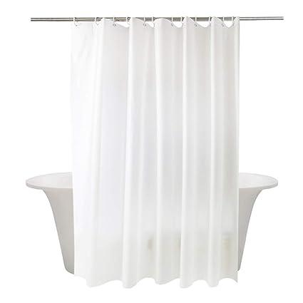 Amazon MOMONY Waterproof Fabric Shower Curtain Mildew Resistant