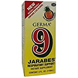 Germa 9 Jarabes 4 OZ For Sale