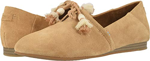 (TOMS Women's Kelli Flats, Size: 5.5 B(M) US, Color: Honey Suede)