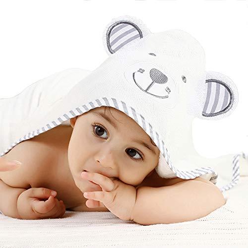 Baby Handdoek Pejoye Badhanddoek met Capuchon Voor Baby's Pasgeborenen Panda Biologisch Bamboe Bad Baby Handdoek met…