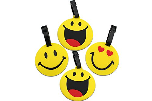Finex Set of 4 - Emoji Smiling Face