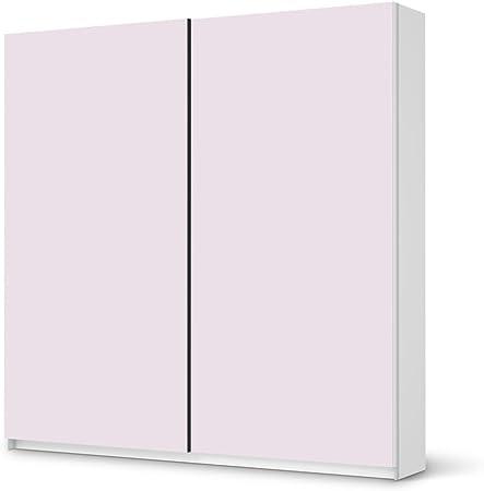 adhesivo de papel de pared para IKEA PAX armario de 201 cm de altura - puerta corredera