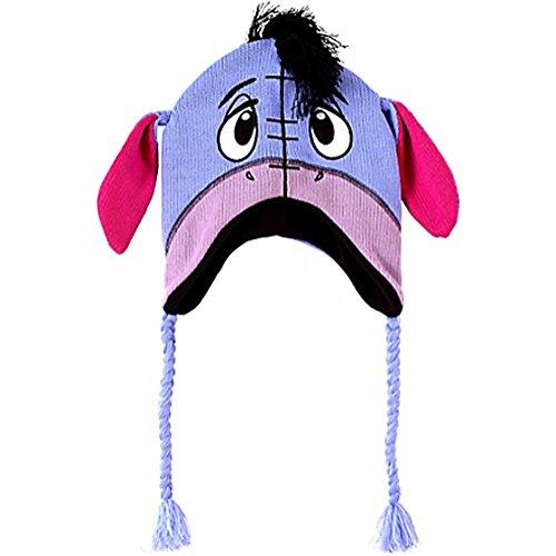 Winnie the Pooh 'Eeyore' Peruvian Style Hat w/ Tassels (1 size, Adult)