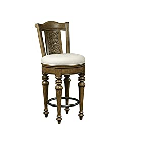 Pulaski 737501 Stratton Bar Stool, Brown