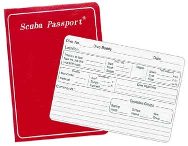 (Trident New Scuba Diving Log Book - Red)