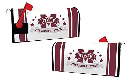 MISSISSIPPI STATE BULLDOGS MAILBOX COVER-MISSISSIPPI STATE MAGNETIC MAIL BOX COVER-NEW FOR 2016!
