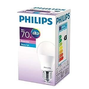Philips 929001379383 Normal Duylu Led Ampul A60, E27, 9-70 W, 1 Parça