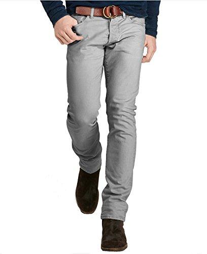 Men's Varick Slim-Straight Jeans 42X30