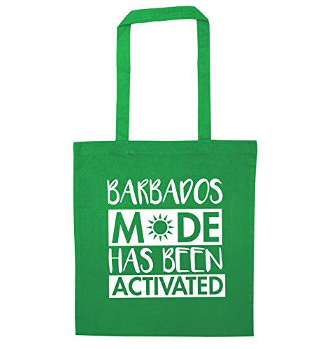 Barbados Bag Been Mode Activated Flox Creative Has Green Tote Zwxtg