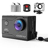COOAU 4K 20MP Wi-Fi Action Camera External