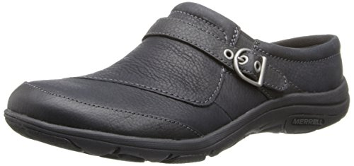 Merrell Women's Dassie Slide Slip-On Shoe,Black,8 M US (Merrell Fur Clog)