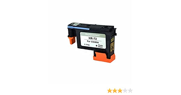 C-Dling Compatible HP 72 Printhead Gray&Photo Black for HP ...