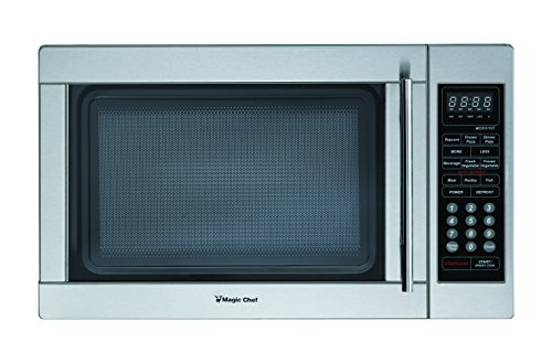 (Magic Chef MCPMCD1310ST MCD1310ST 1.3 cu.ft. Microwave Stainless Steel)