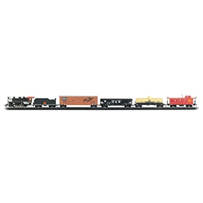 Bachmann Trains - Chattanooga Ready To Run 155 Piece Electric Train Set - HO Scale: Toys & Games