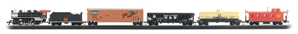 Bachmann Trains - Chattanooga Ready To Run 155 Piece Electric Train Set - HO Scale by Bachmann Trains