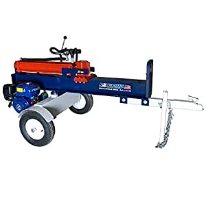 Blue Max 52035 27 Ton 54,000-Pound 196cc Horizontal Gas Log Splitter
