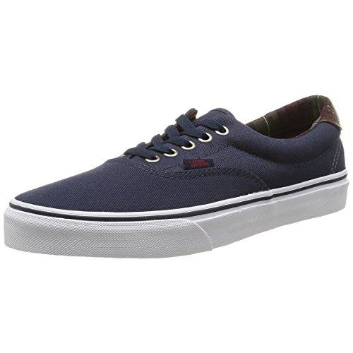 Vans Era 59 Men's Skateboarding Shoes - (Plaid) (6.5 D(M) US, Dress Blues)