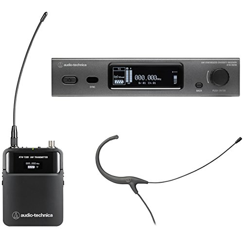 Audio-Technica 3000 Series Wireless System Wireless Microphone System Headworn Mic (ATW-3211/892EE1)