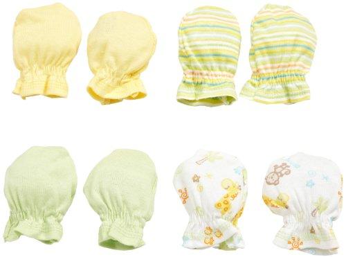 UPC 047213575413, Gerber Unisex-baby Newborn 4-Pack Mittens, Multi, 0-3 Months