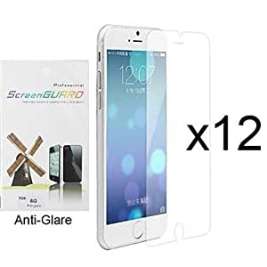 TY 12 x Anti-Glare Matte Screen Protector with Cleaning Cloth for iPhone 6