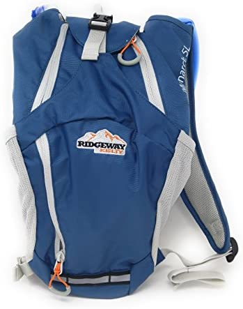 Hydration Pack Ridgeway by Kelty Monarch 5L- aqua blue camping backpack BIKING, HIKING, RUNNING