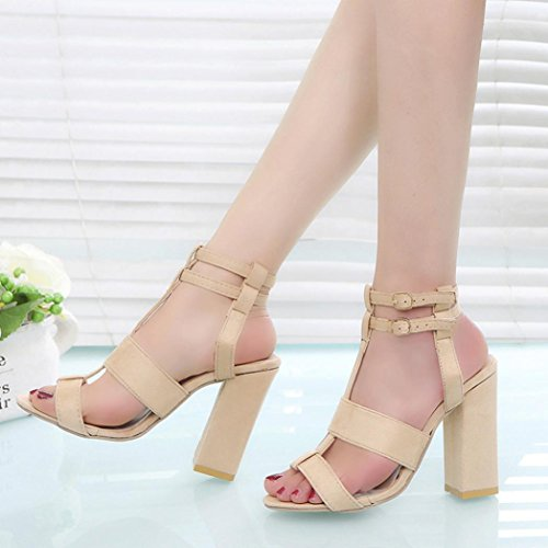 Sandals Shoes Cushioned Beige Strappy Slingback Wide Ladies Lolittas Size 6 Block High T Embellished Summer Gladiator Toe Thick Fit Peep Heel Roman 2 CqWft
