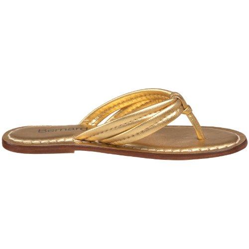 Bernardo Femmes Miami Thong Sandale Or
