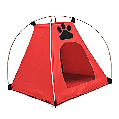 DINGANG Pet Kitten Cat Puppy Dog Mini Nylon Camp Tent Bed Play House For Sale