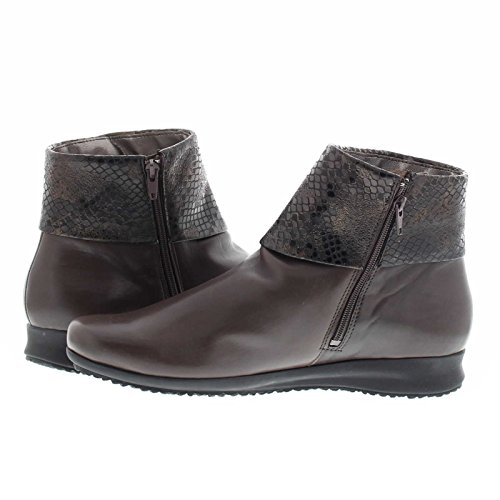 Womens Boots Fiducia Brown Mephisto Leather awZq88