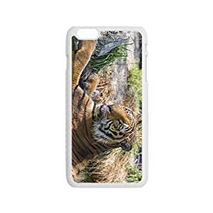 The Tiger In Water Hight Quality Plastic Case for Iphone 6