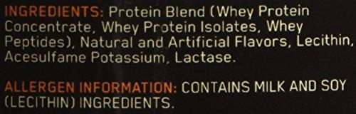 NUTRICIÓN ÓPTIMA 100% proteína de suero de leche, helado de vainilla, 16 onzas