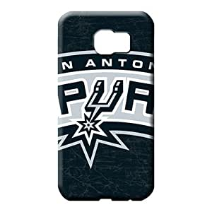 samsung galaxy s6 With Nice Appearance phone carrying covers High Quality Excellent Fitted san antonio spurs nba basketball