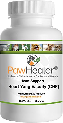 Heart Support - Heart-Yang Vacuity (CHF) - 50 grams - Coughing, Gagging , Wheezing due to Heart Condition - 50 grams-Herbal Powder-Remedy for Dogs & Pets… …