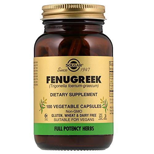 Solgar – Full Potency Fenugreek, 100 Vegetable Capsules